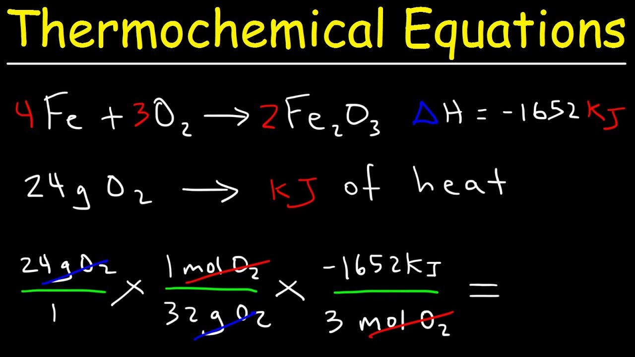 Thermochemical Equations Practice Problems