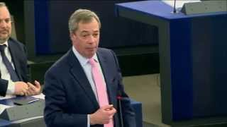 EU Faces Greek Democracy in Great Euro Poker Game - UKIP Leader Nigel Farage