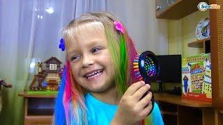 САЛОН КРАСОТЫ для Ярославы Красим Волосы Игры для девочек Развлечения для детей