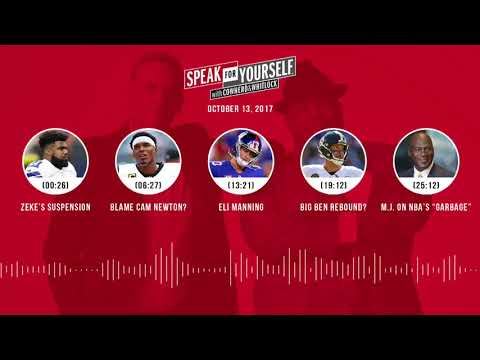 SPEAK FOR YOURSELF Audio Podcast (10.13.17 ) with Colin Cowherd, Jason Whitlock | SPEAK FOR YOURSELF