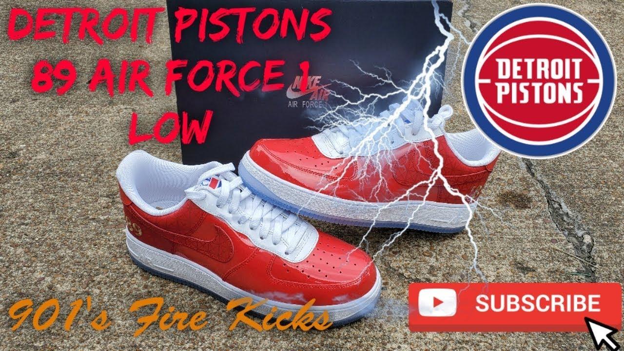 Detroit Pistons 89 Air Force 1's