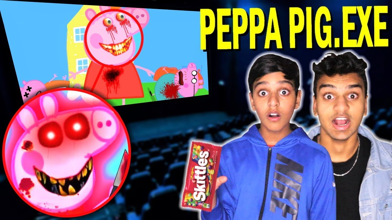 Do Not Watch PEPPA PIG.EXE VIDEOS At 3AM!! *SCARY PEPPA PIG BROKE INTO MY HOUSE*