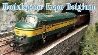 "50 Ultra Realistic Model Railway Layouts - Model Railroad Exhibition ""Modelspoor Expo"" in Belgium"