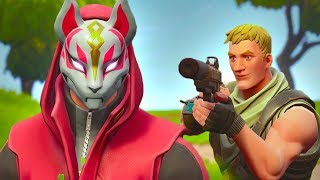 DRIFT GETS HUNTED BY A NOOB - Court métrage Fortnite
