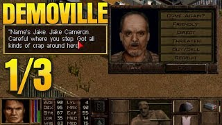 I CAPTURE THE NASTY FACTORY! Jagged Alliance 2: Demoville Ep 1/3