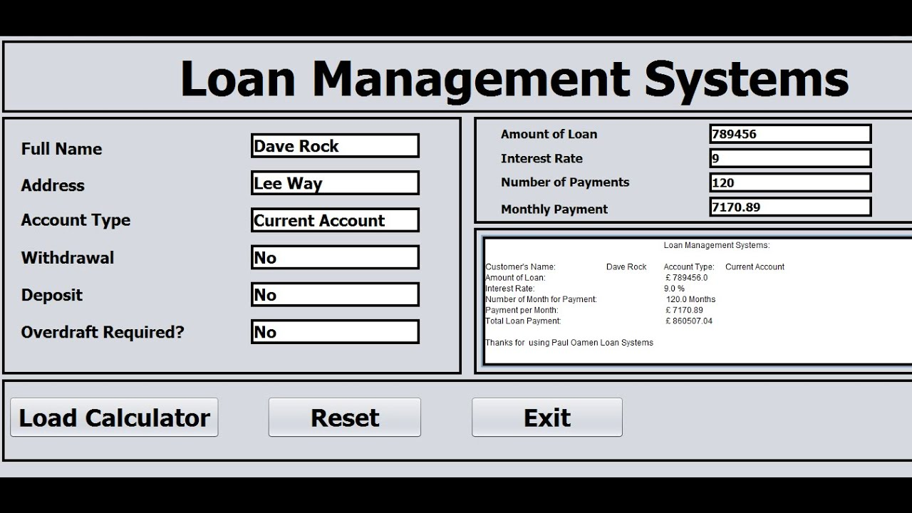 loans management system K-loans is a powerful loan servicing script this script is the fully functional php solution for mortgage companies, commercial lending, credit unions, municipalities, private and institutional lenders auto loan servicing, student loans, real estate loans, and much more.