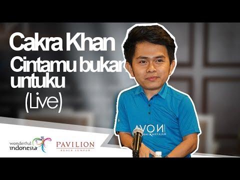 Cakra Khan - Cintamu Bukan Untuku (Live) Pavilion Mall - Kuala Lumpur