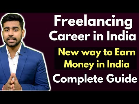 Freelancing  How to make money as Freelancer in India  Dropshipping  Upwork  Hindi  2018