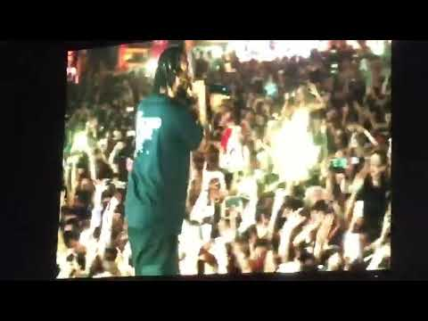 """Zurich open air zoa-2018 Kendrick Lamar  """"DNA"""" live HD"""