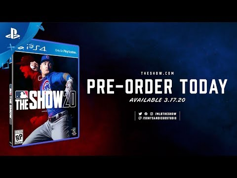 MLB The Show 20 - Announcement Trailer | PS4
