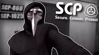 SCP 049 IS AFTER ME! - SCP Containment Breach Gameplay - Horror Game