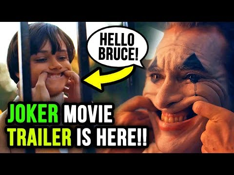 JOKER Movie Trailer Breakdown! (Shot by Shot)