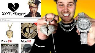 I Bought THE CHEAPEST XXXTentacion Rapper Chains and Merch! IS IT WORTH IT?!