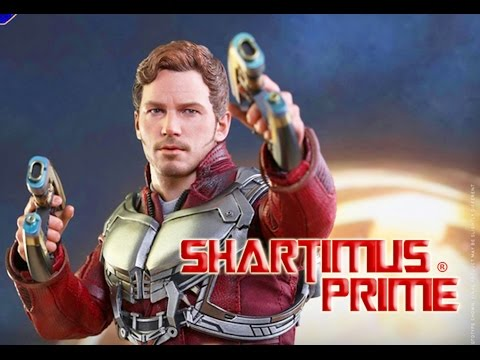 Hot Toys Star-Lord Guardians of the Galaxy Vol  2 Movie 1:6 Scale Marvel Chris Pratt Figure Revealed