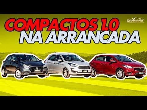 Chevrolet Onix X Hyundai HB20 X Ford Ka! Qual Popular 1.0 Vence No Arrancadão #16?   Acelerados