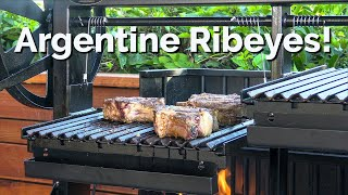 Argentine Grilled Ribeyes | Argentine Grill Review | Ballistic BBQ
