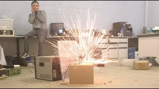 High-voltage Component Explosions