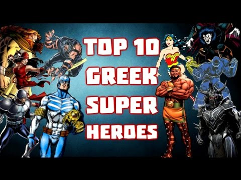 Top 10 Greek Superheroes