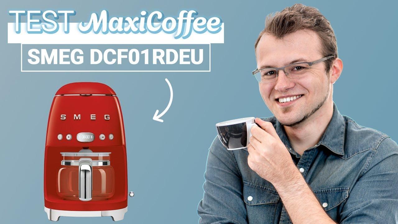 smeg dcf01rdeu rouge cafetiere filtre le test maxicoffee