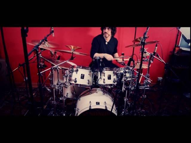 SONOR PROLITE - MEINL DANIELE POMO Sonor drums-Meinl cymbals - SEMI - RANESTRANE