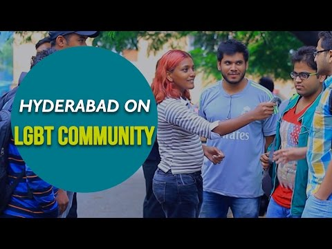 Hyderabad on LGBT Community || Candid Response from public.