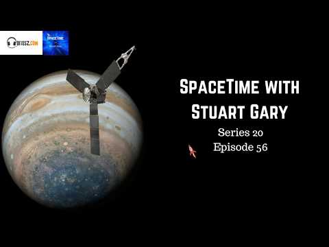 Jupiter's mysterious great red spot as never seen before - SpaceTime with Stuart Gary S20E56