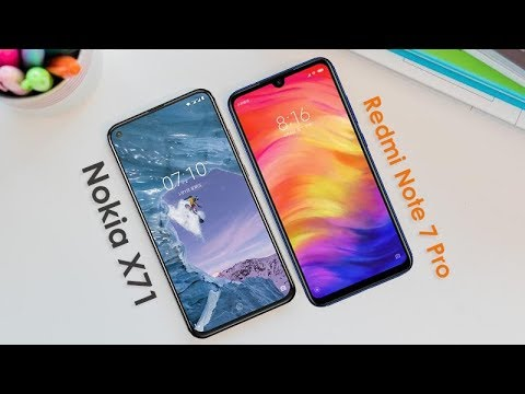 Nokia X71 Vs Xiaomi Redmi Note 7 Pro || Quick Comparison - 2019
