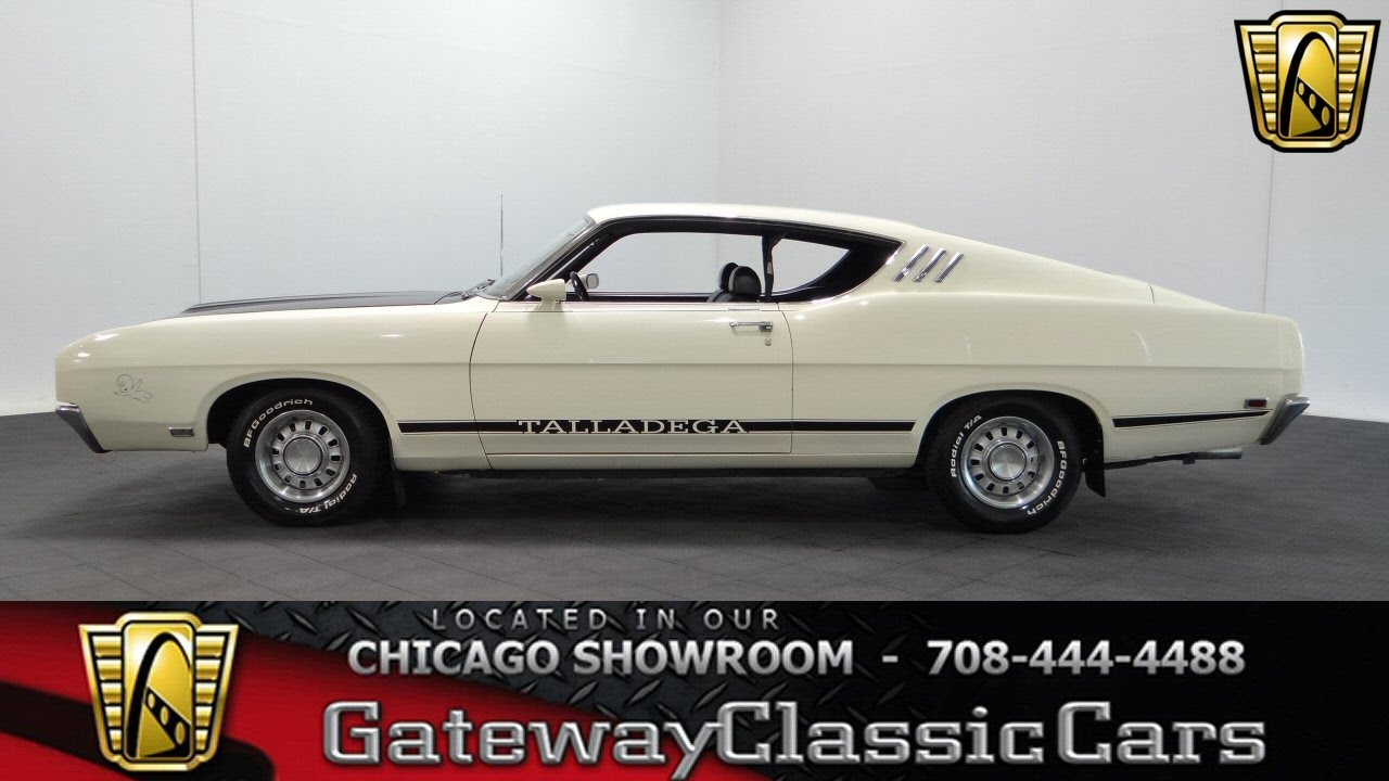1969 Ford Torino Talladega Gateway Classic Cars Chicago #1072 - YouTube