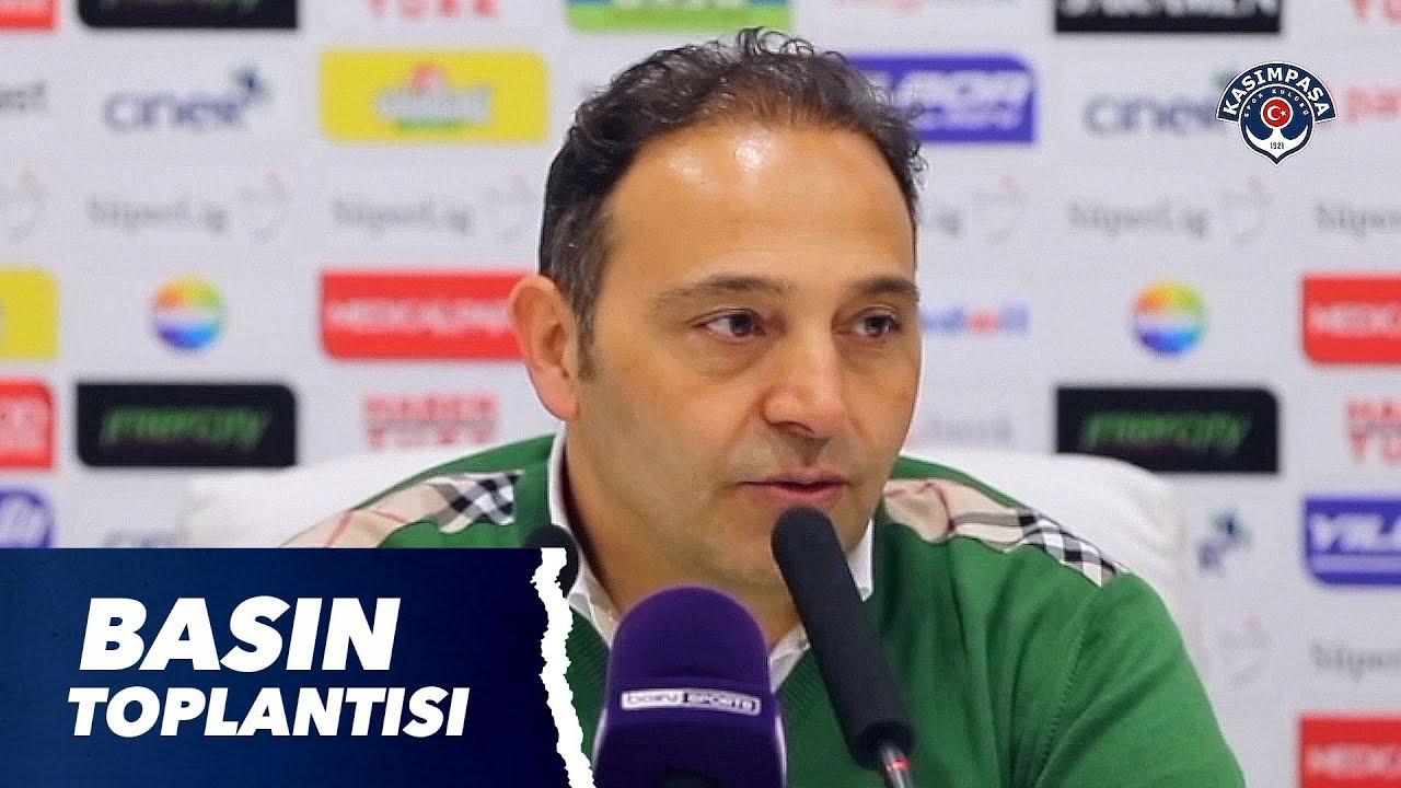 Teknik Direktörümüz Fuat Çapa'nın Göztepe maçı sonrası basın toplantısı.
