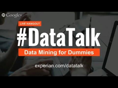 Meta Brown: Data Mining for Dummies #DataTalk
