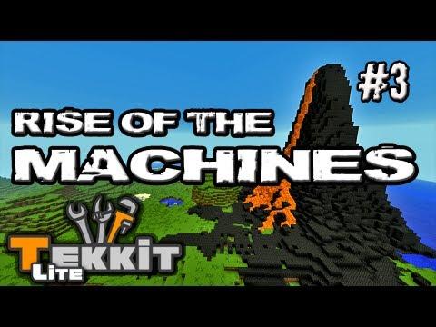 Tekkit Lite #3 |Rise of the Machines| Nano Meaty