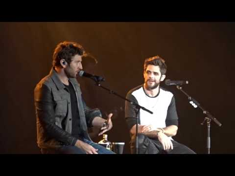 Thomas Rhett & Brett Eldredge - CMT Suits and Boots Medley (11-19-2015)