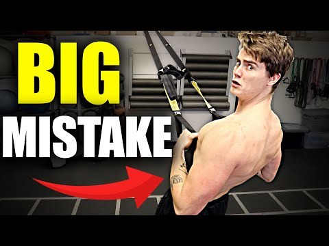TRX Rows are HURTING YOU! [WARNING!]