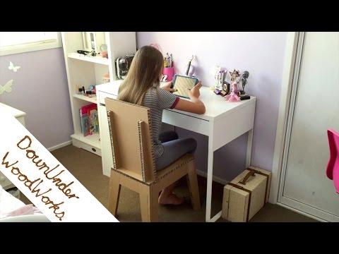 Cardboard chair project ideas