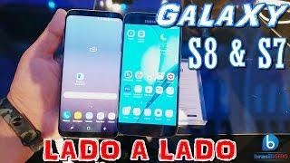 Galaxy s8 e Galaxy S7 - Lado a lado! Em Português