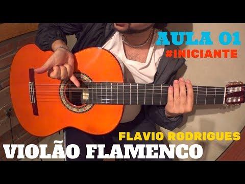 Aula 1 - Violão Flamenco INICIANTE - Técnica Do Rasgueado Ou Rasgueo - Flavio Rodrigues