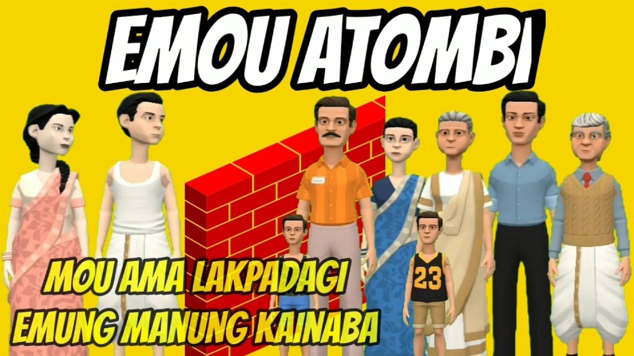 Emou Atombi || Manipuri Short Story || Manipuri Comedy || Manipuri Funny Video || Kanglei Cartoon