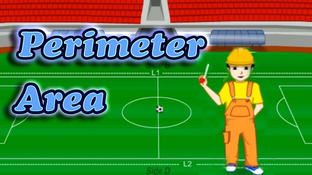 Perimeter Amp Area Of A Rectangular Object Learning Videos For Children Math Lesson For Grade 2
