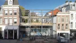 Как сделать фасад дома из стеклянного кирпича. Видео(Что получится, если попробовать реконструировать здание, заменив обычные кирпичи на стеклянные? Так, к..., 2016-06-12T17:48:09.000Z)