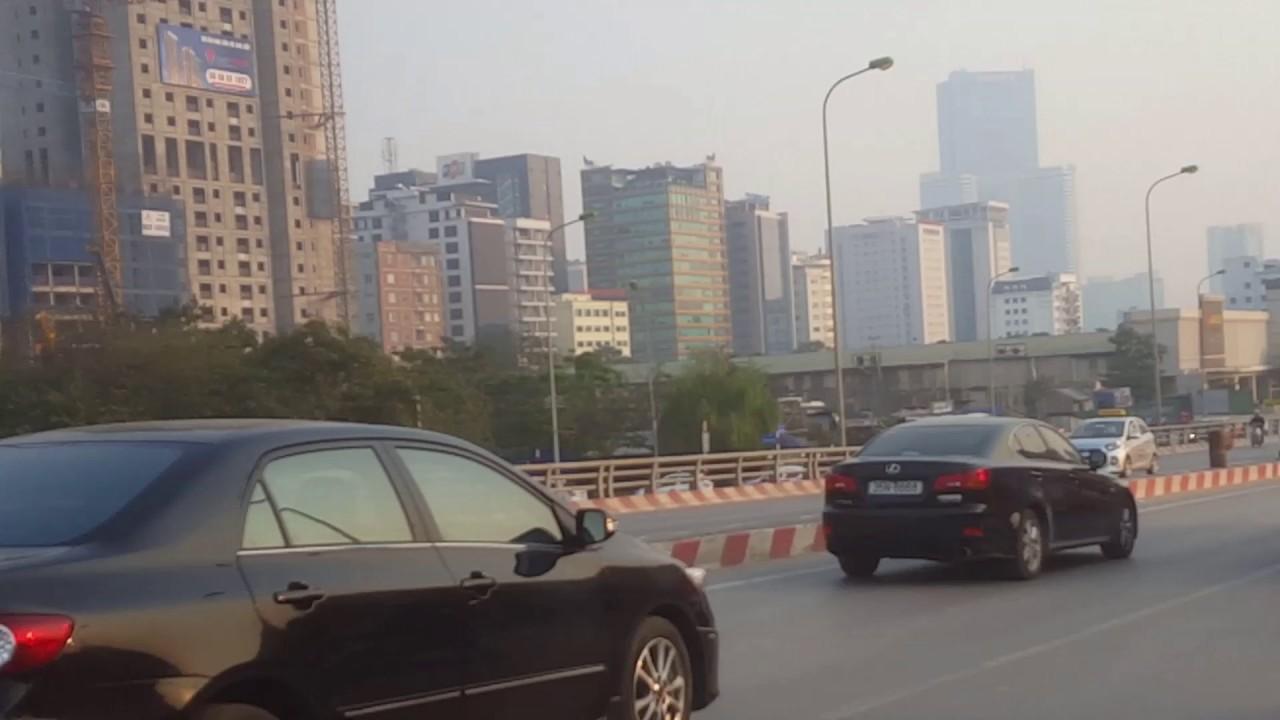 Hanoi Street view – đường phố Hà Nội – Vietnam Skyline