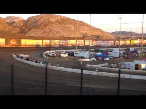 Super Stock Heat Race 2 - Perris Auto Speedway 9/10/16