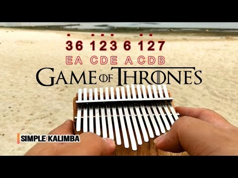 Game Of Thrones Theme Song - Kalimba Easy Practice
