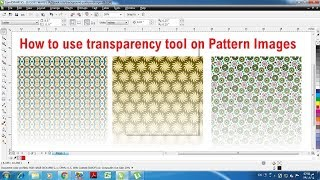 Learn CorelDraw in hindi tutorial 26 transparency tool part 2  in corel draw