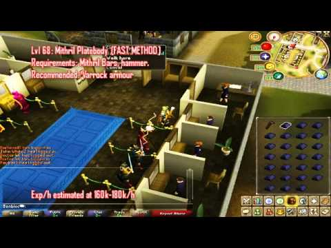 Ultimate 1-99 Smithing Guide Cheap + Fast methods! By Bonbloc