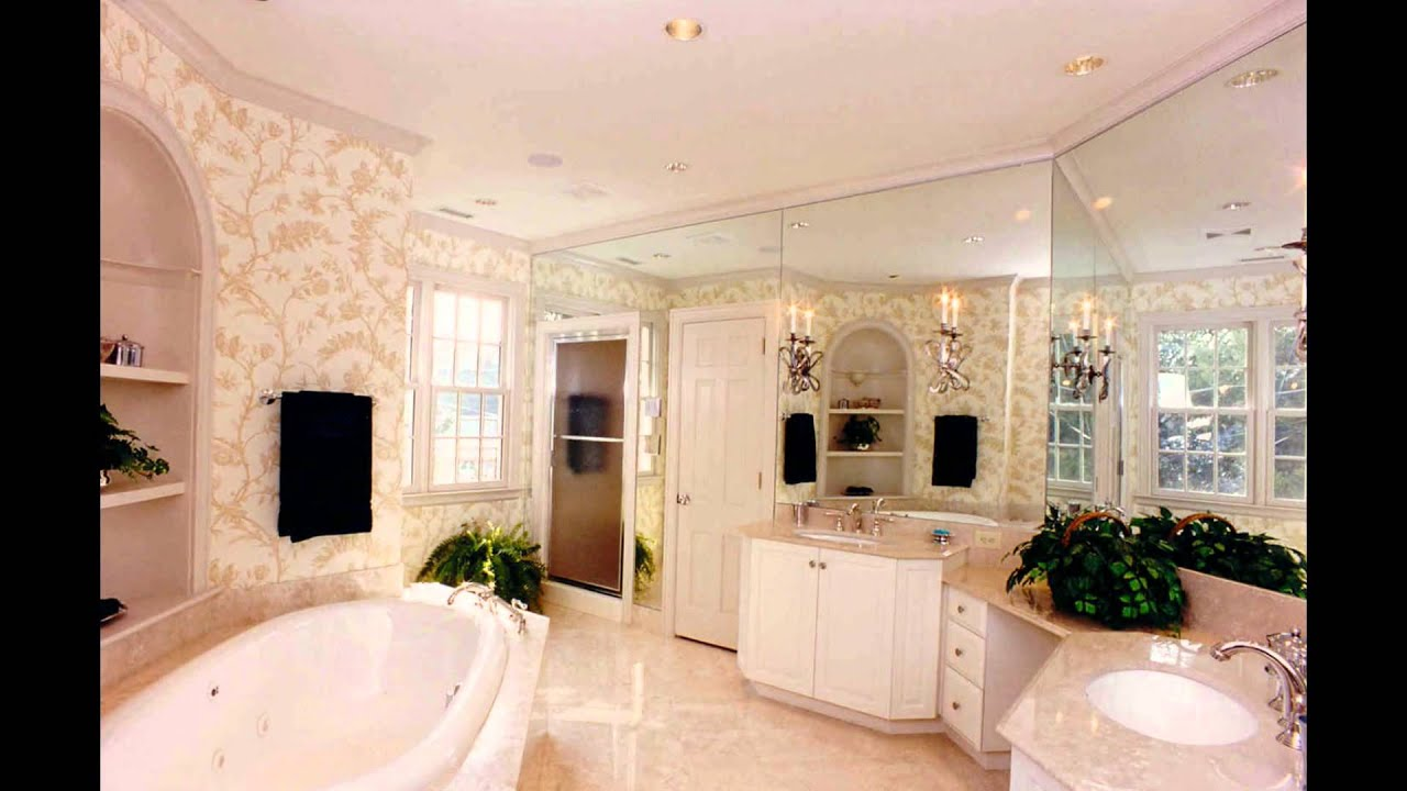 master bedroom bathrooms