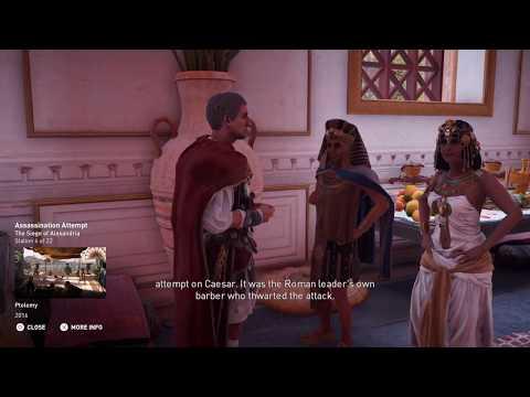 Assassin's Creed Origins Discovery Tour - The Siege of Alexandria -