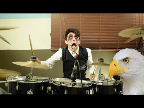 Noisy Abe - The Eagle Has Landed (Avatar Drum Cover)