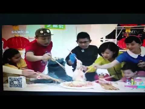 Neelu's short segment on China Cable Channel Kids CNY program on CCTV14