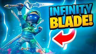 i broke the infinity blade... (glitch)