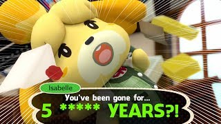 Visiting Animal Crossing FIVE YEARS LATER! 🙀